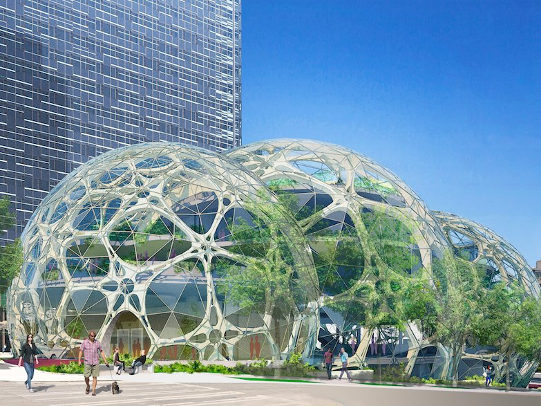 amazon extinct species garden - heres-what-the-glass-domes-will-look-like-when-theyre-finished