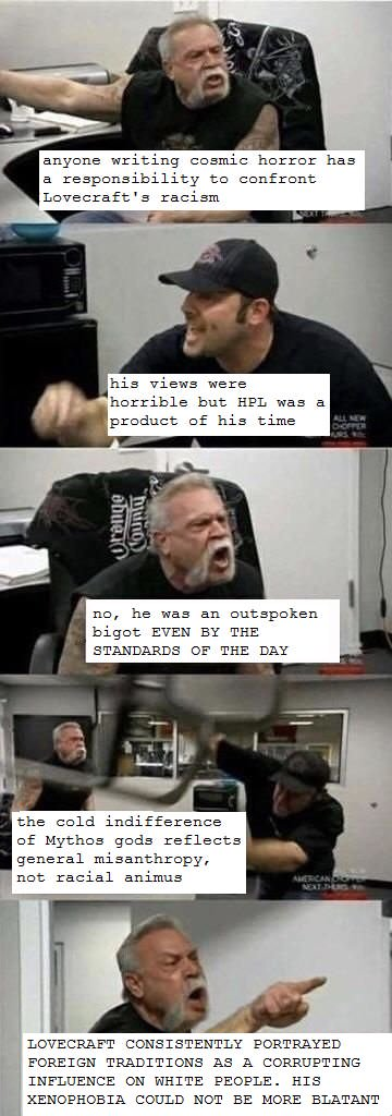 American Chopper Meme lovecraft