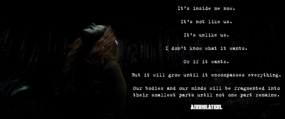 Annihilation - quote